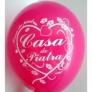 20 Baloane colorate inscriptionate CASA DE PIATRA
