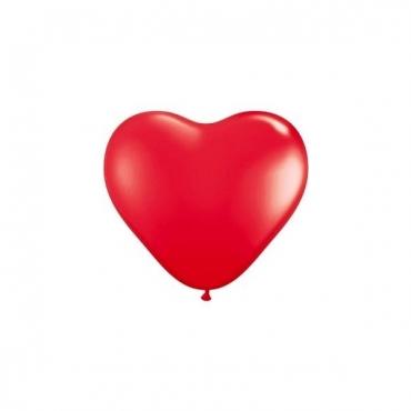 100 baloane nunta inimioare rosii 30cm
