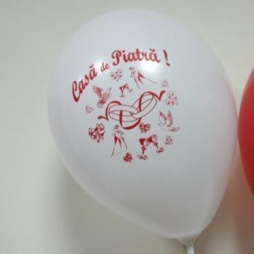 20 Baloane imprimate CASA DE PIATRA Mire Mireasa
